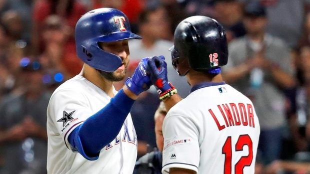 Joey Gallo Francisco Lindor