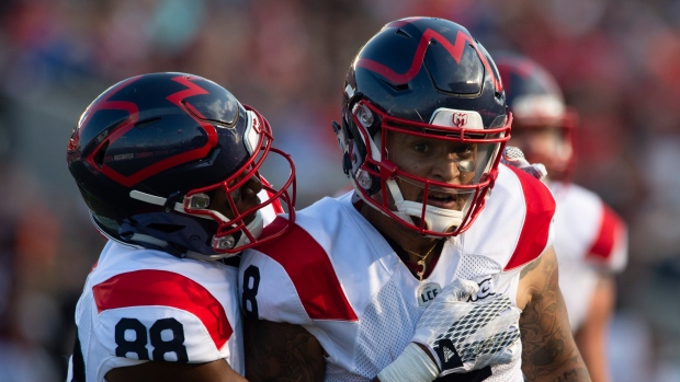 Malcolm Carter and Vernon Adams Jr.