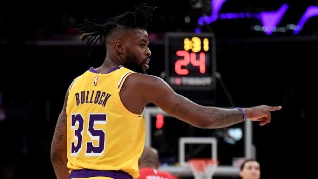 online retailer 9aa29 b276d Report: Reggie Bullock, New York Knicks agree to new two ...