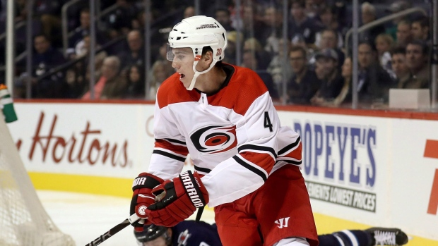 Carolina Hurricanes re-sign D Haydn Fleury to 1-year deal