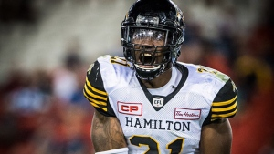 Lawrence also an offensive threat for Tiger-Cats