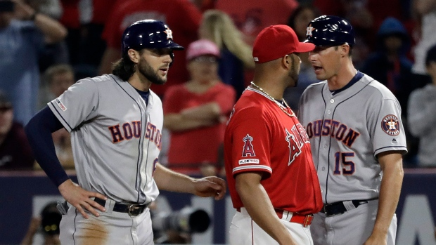 best website 539a3 b39e5 Houston Astros manager A.J. Hinch says Los Angeles Angels ...