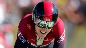 Thomas crashes again as heat wave engulfs Tour de France