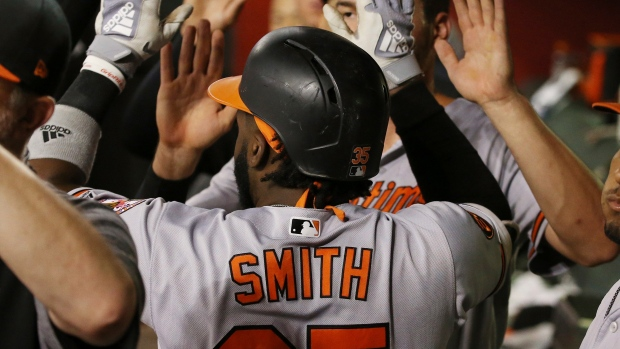 40fcaa3cb9cd Dwight Smith Jr., Baltimore Orioles strike early in win over Arizona ...
