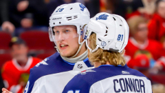 Patrik Laine and Kyle Connor