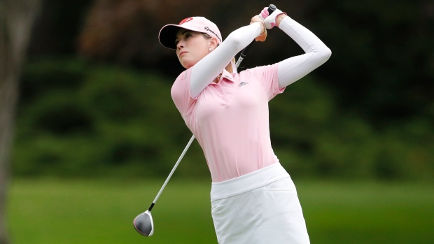 Evian Championship: Paula Creamer shoots 64 to hold first-round lead