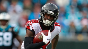 Report: Falcons WR Ridley not participating in minicamp after minor foot surgery