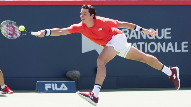 Canadians Shapovalov, Raonic advance in Montreal