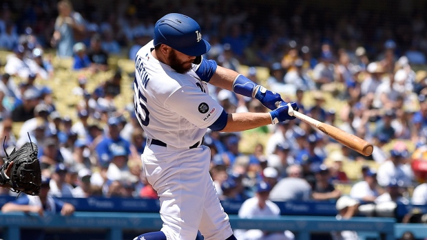 Russell Martin 2 Out 2 Run Single In 9th Los Angeles Dodgers Edge