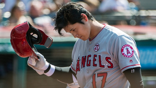 Ohtani to have season-ending surgery on kneecap