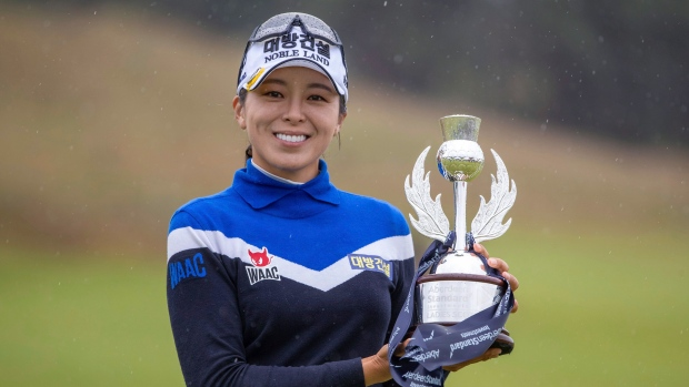 Hur wins Ladies Scottish Open | AP sports
