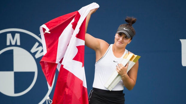 Bianca Andreescu wins Canada's athlete of the year award