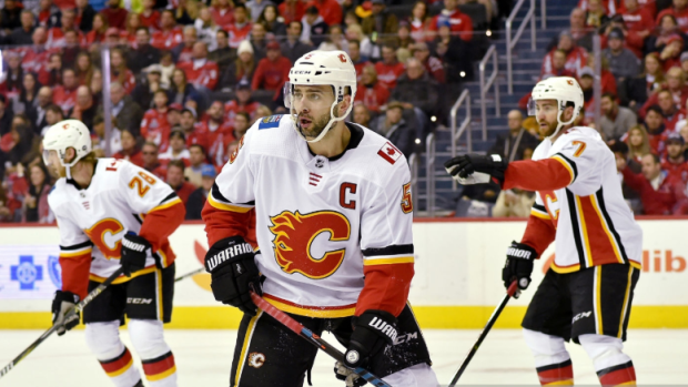 Flames captain Giordano undergoes MRI for injury