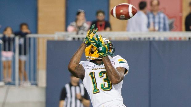 Edmonton Football Team releases WR Ricky Collins Jr. - TSN.ca