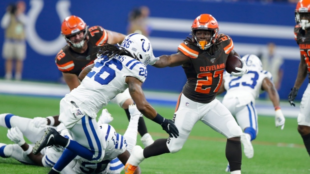 07f5fb2d Backup QBs lead Browns past Colts as Hunt returns - TSN.ca
