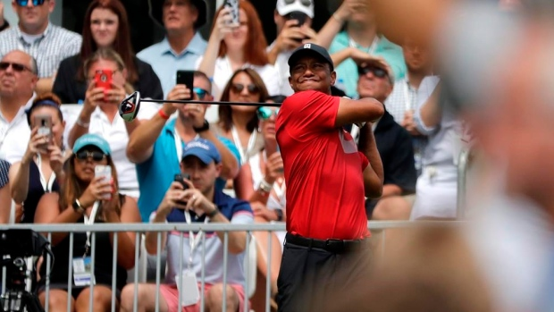 Woods on 2019 season: 'I'm the one with the green jacket' - TSN