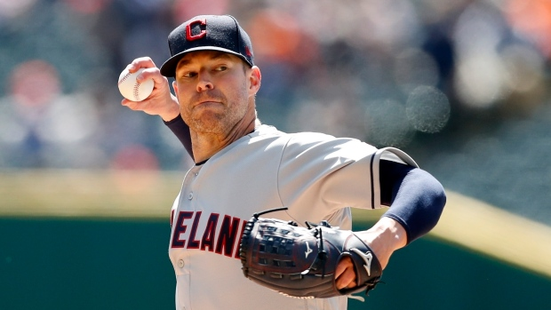 Indians trade 2-time Cy Young victor  Kluber to Rangers