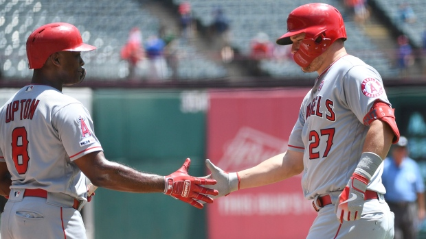 Justin Upton Mike Trout