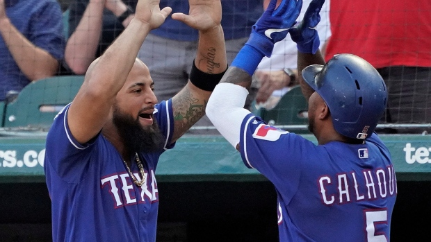 Rougned Odor Willie Calhoun