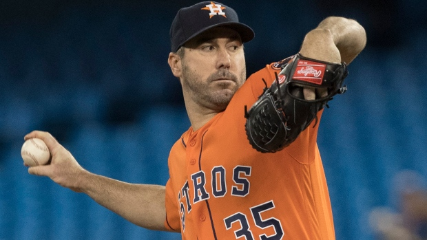Justin Verlander tosses 3rd career no-hitter