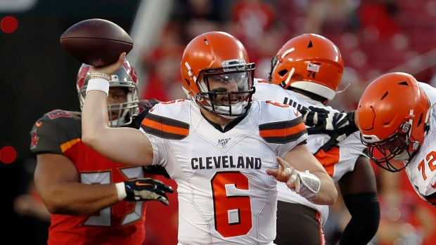 best service 6c2b7 cc999 Baker Mayfield brings hope, hype to Cleveland Browns - TSN.ca
