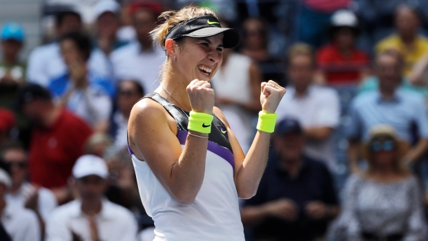 Belinda Bencic beats Donna Vekic to move into U.S. Open semis