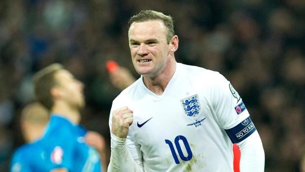 Wayne Rooney Quiz Wayne Rooney The Canadian Press