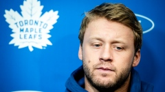 Leafs defenceman Morgan Rielly