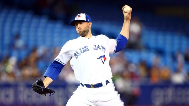 Toronto Blue Jays P Tim Mayza injured throwing pitch - TSN.ca