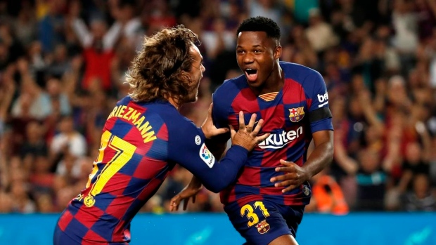 Barca's Fati granted Spanish citizenship