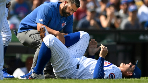 Chicago Cubs await update on first baseman Anthony Rizzo (ankle) - TSN.ca