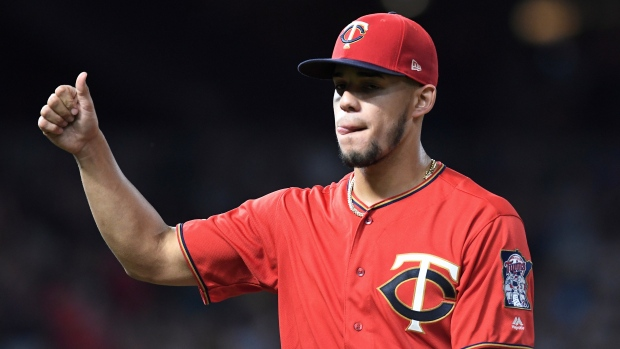 Blue Jays land Berrios from Twins for top prospects