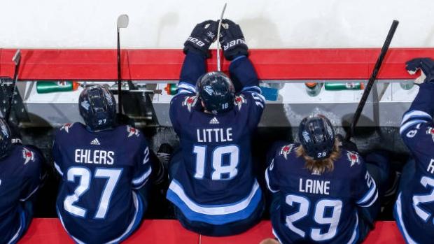 Winnipeg Jets centre Bryan Little says Patrik Laine apologized for No. 1 line comments - TSN.ca