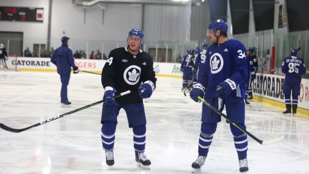 Barrie feeling anxious ahead of Leafs debut - TSN.ca