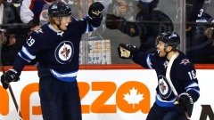 Patrik Laine and Bryan Little