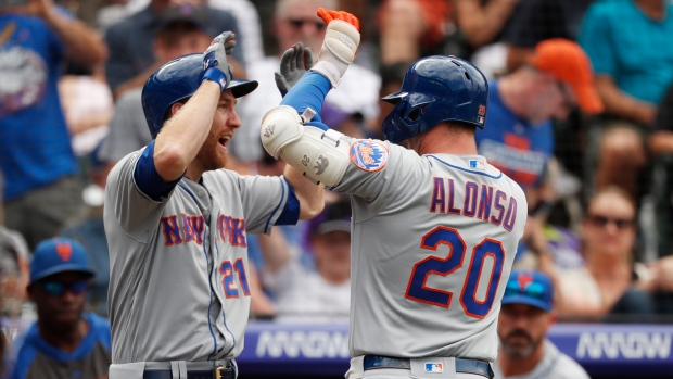 Todd Frazier and Pete Alonso