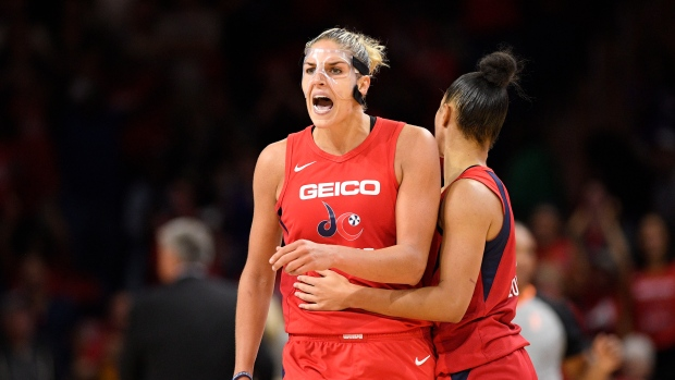 Mystics' Elena Delle Donne is named WNBA MVP