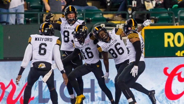 Hajrullahu, Hamilton Tiger-Cats clinch playoff spot with win over Edmonton Eskimos - TSN.ca