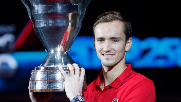 ATP St. Petersburg: Daniil Medvedev thumps Borna Coric, extending great run