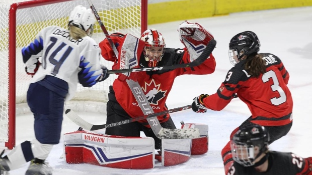 Canada U S To Open Women S Hockey Rivalry Series In Hartford In December Tsn Ca