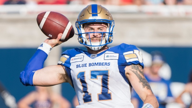 Winnipeg Blue Bombers release Chris Streveler to pursue NFL - TSN.ca