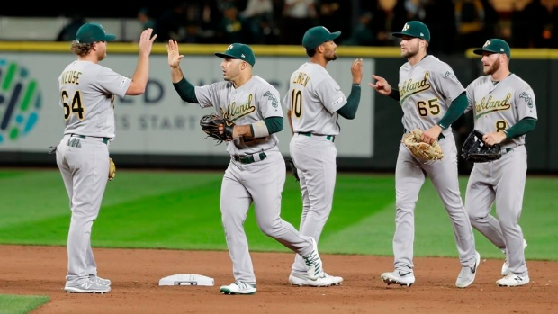 All 10 MLB playoff slots filled; A's, Rays in, Cleveland out - TSN