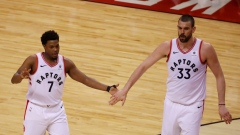 Kyle Lowry and Marc Gasol