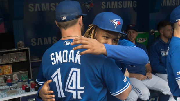 Smoak drives in three runs vs. Rays in potential final game as Blue Jay - TSN