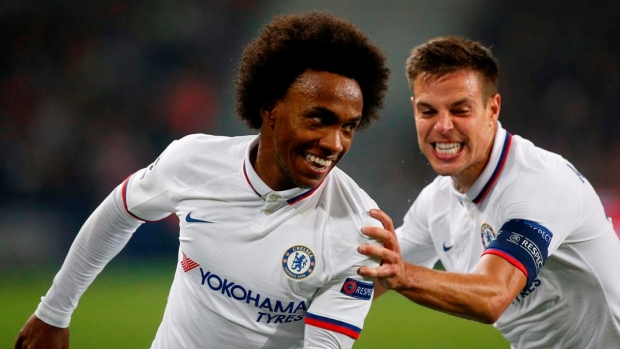 Willian and Cesar Azpilicueta