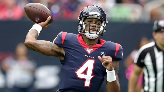 Report: Texans now willing to trade QB Watson