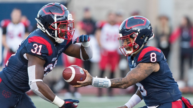 RBs William Stanback, Jeremiah Johnson with first team at Montreal Alouettes practice - TSN.ca