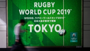 Two matches cancelled at Rugby World Cup because of typhoon