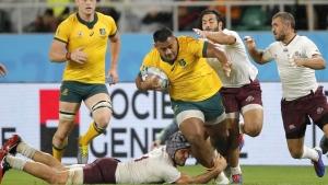 Australia tops Georgia to finish group stage