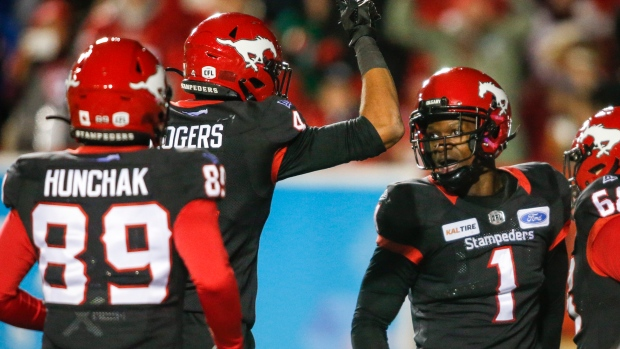 Stampeders hang on for win over Roughriders - TSN